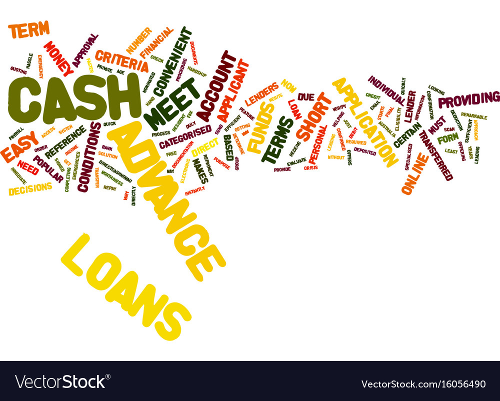 The convenient way to meet your financial vector image