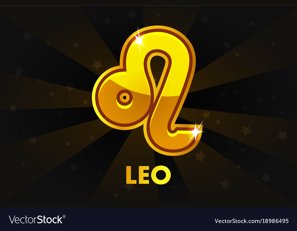 Golden astrology signs on black background zodiac
