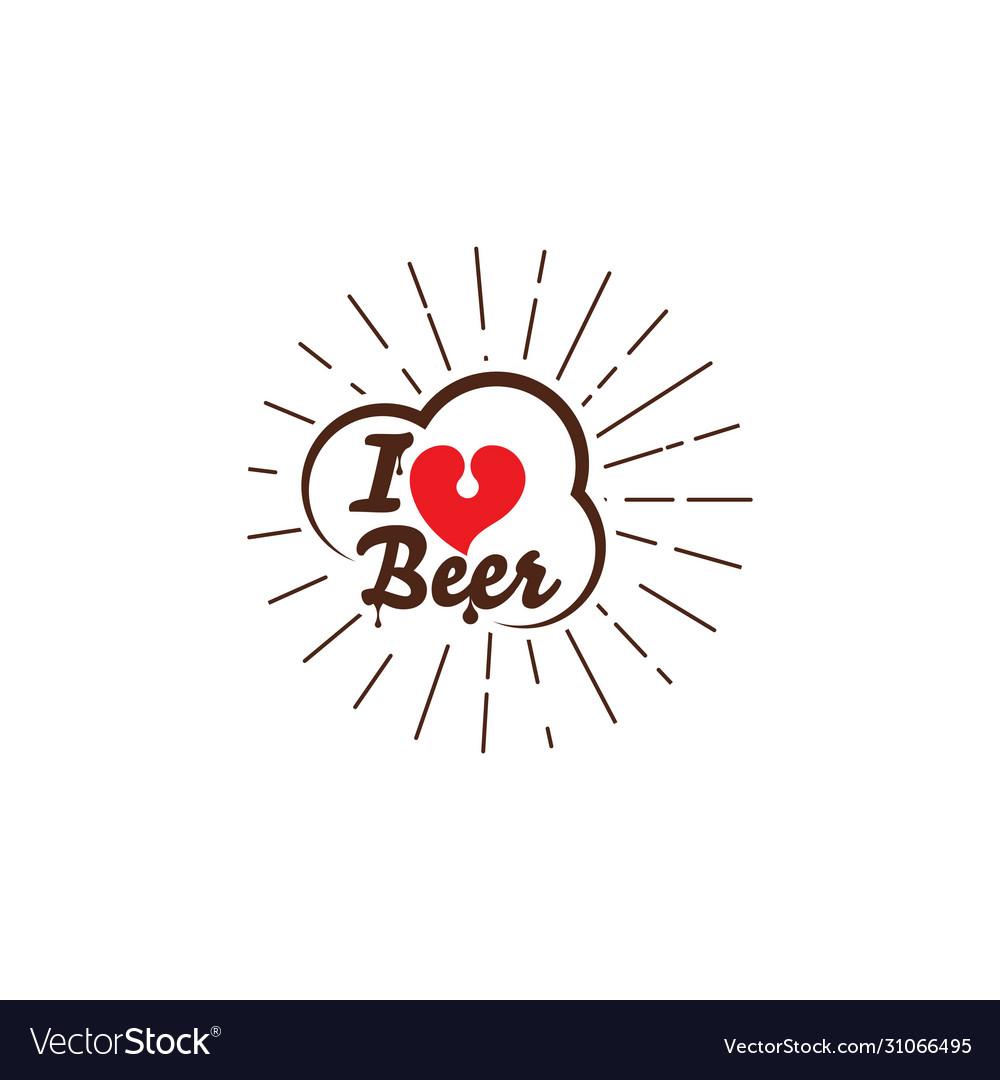 I love beer design