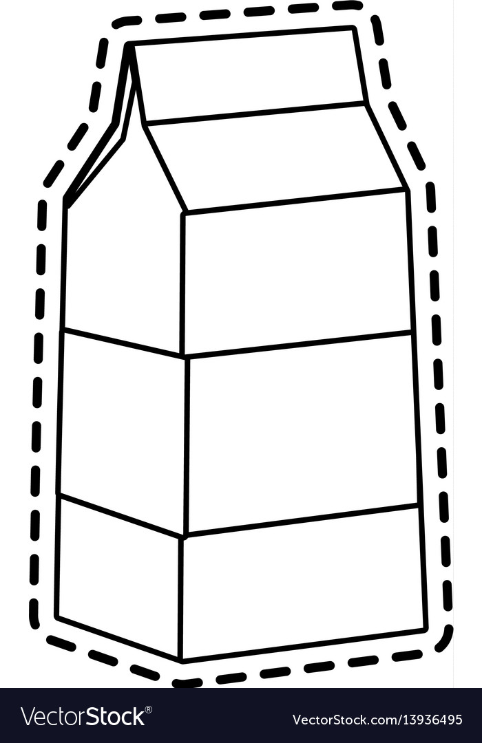 Milk carton icon image