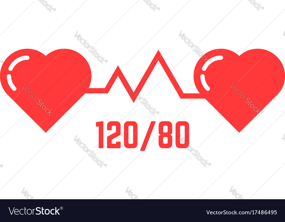 Simple blood pressure icon