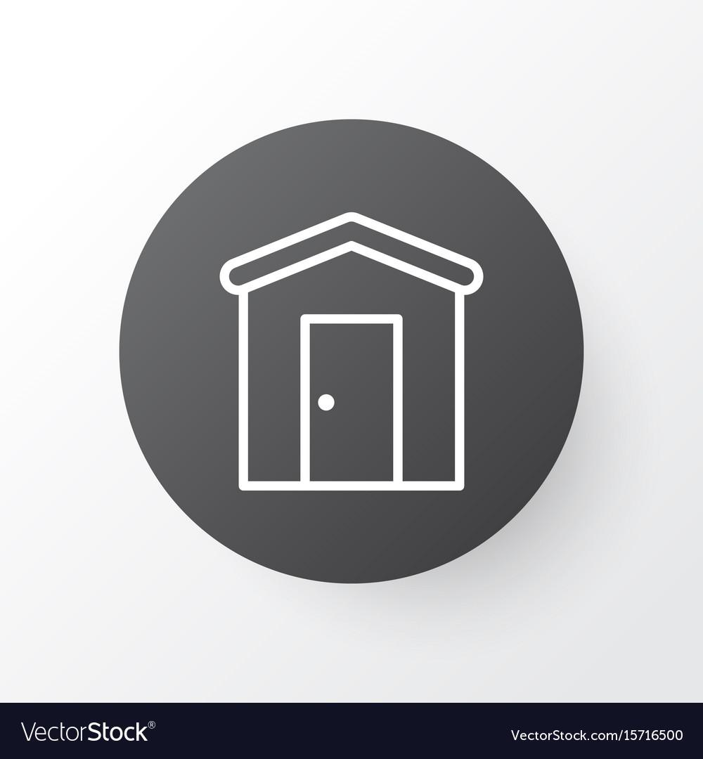 Barn icon symbol premium quality isolated vector image