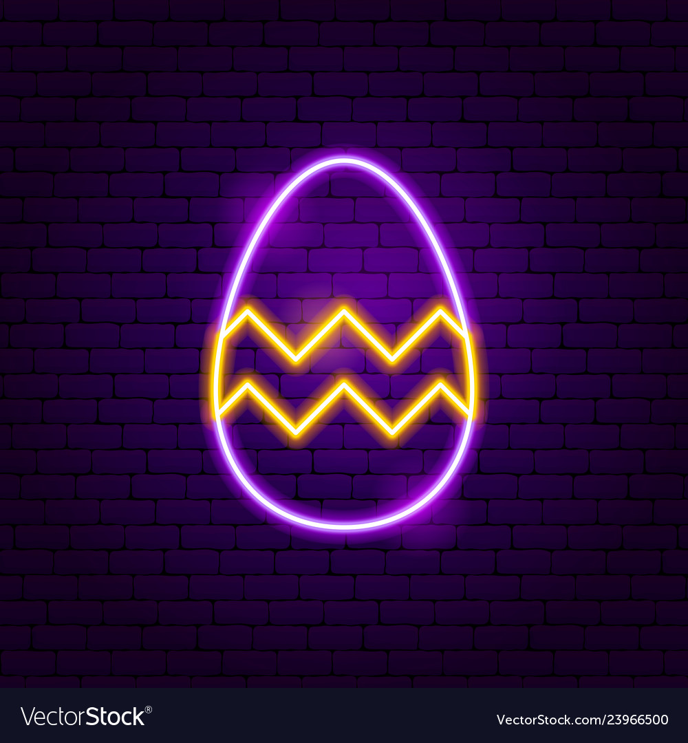 Easter decor neon sign