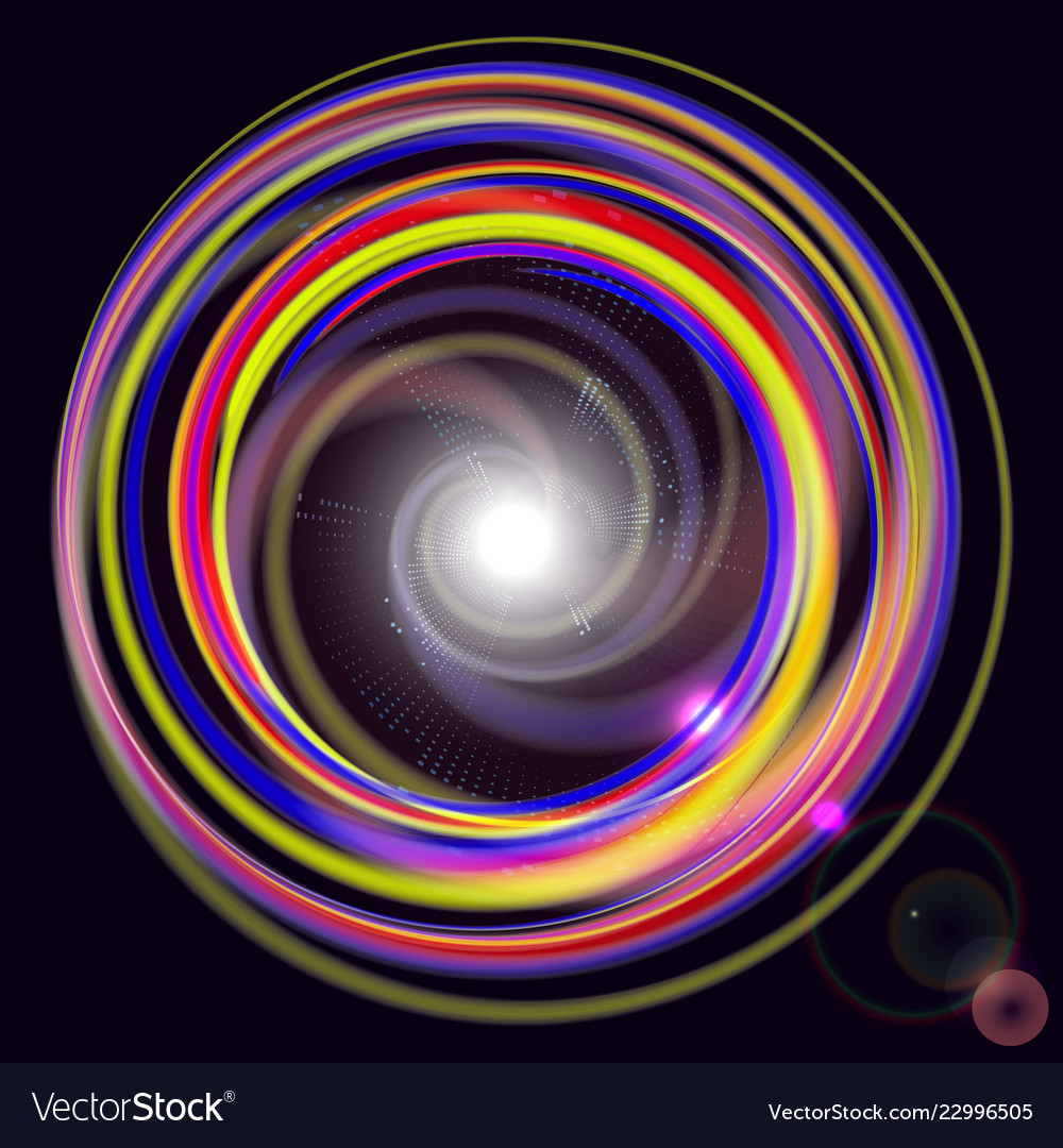 Abstract technology background- colored abstract