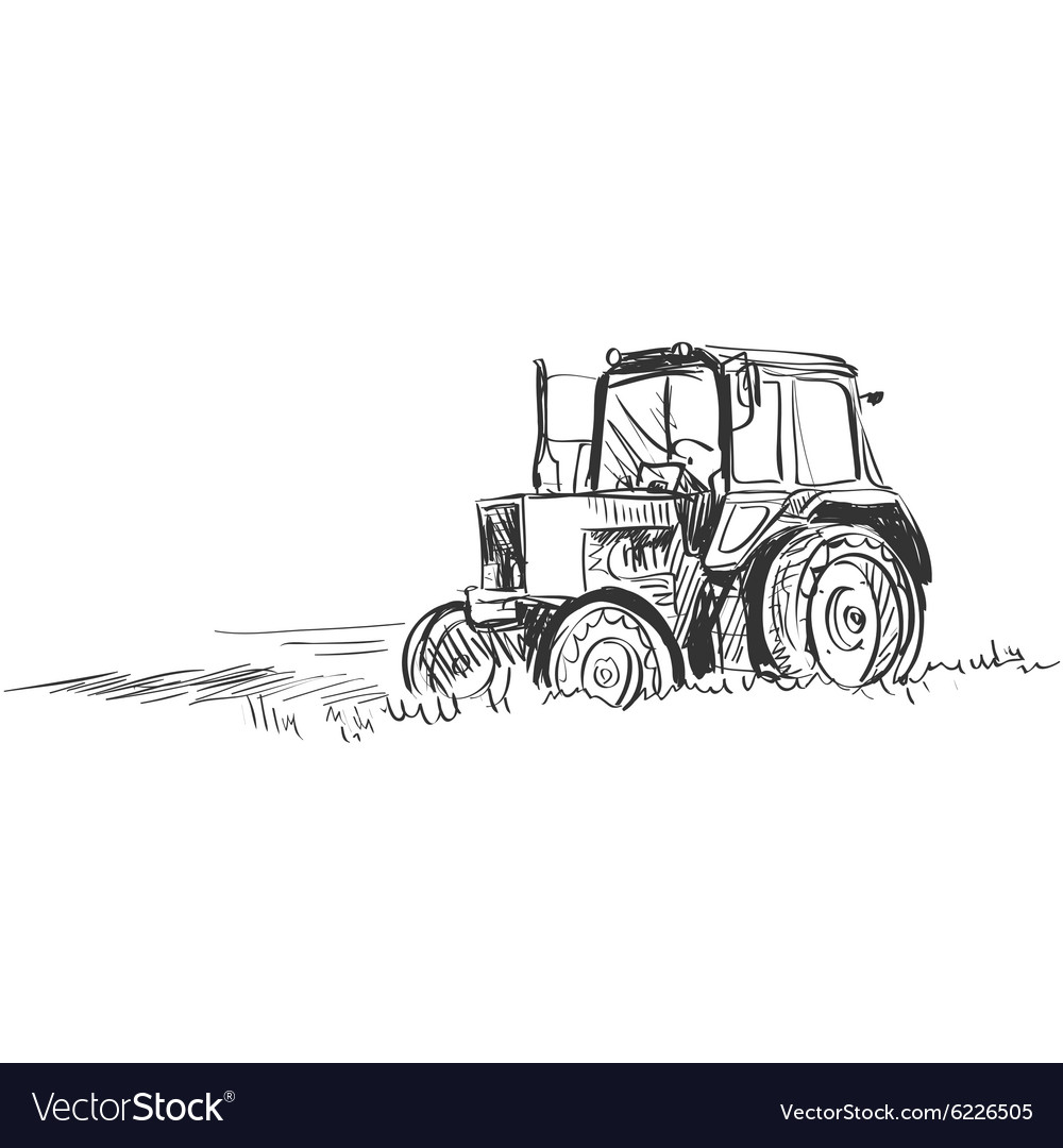 Doodle tractor