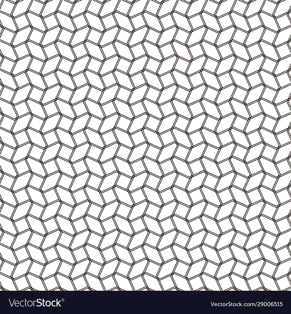 Beautiful seamless geometric black and white