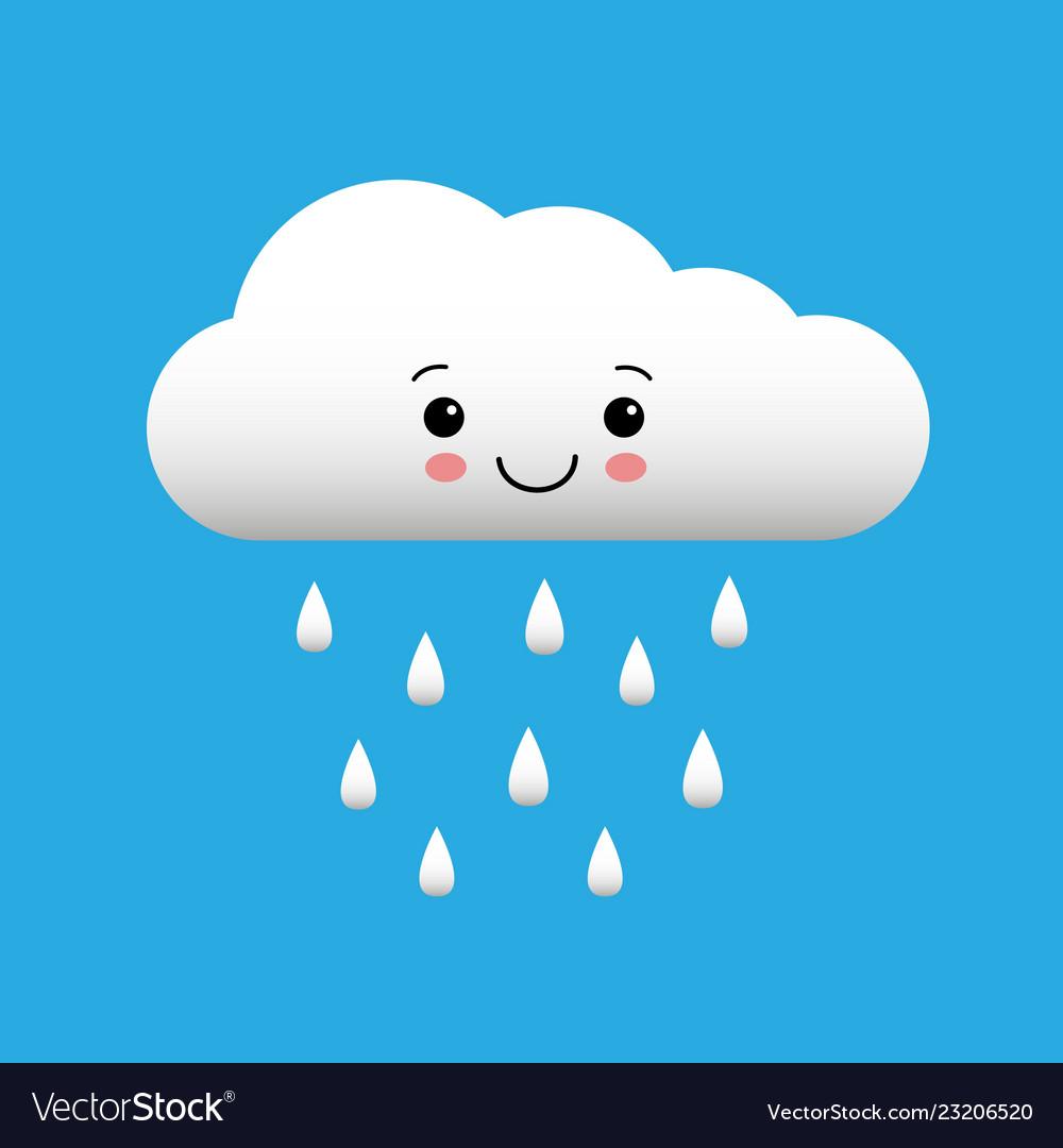 すごい Rain Smile Clipart - サンゴメガ