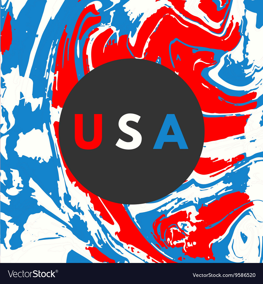 Happy USA Independence day card