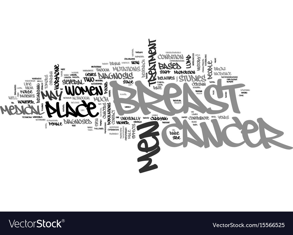 A rare case of male breast cancer text word cloud