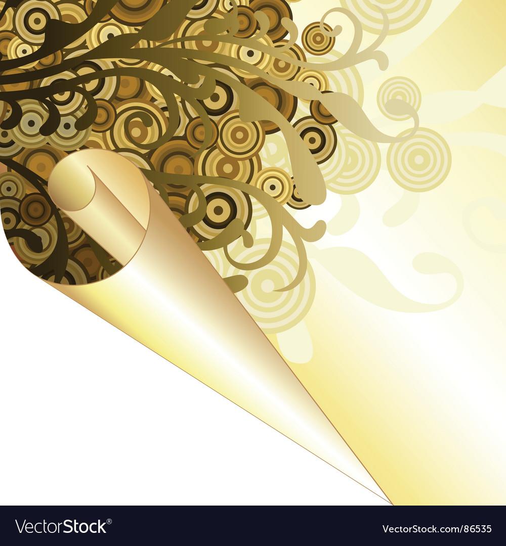 Background decorative vector image