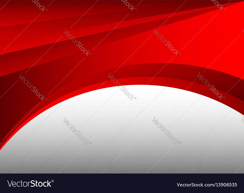 Red and gray abstract waves background