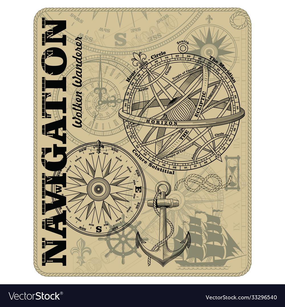 Navigation maritime design nautical design