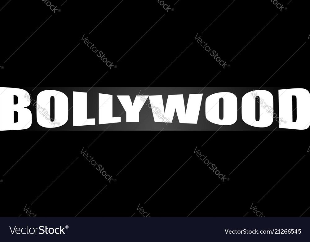 Bollywood clapperboard