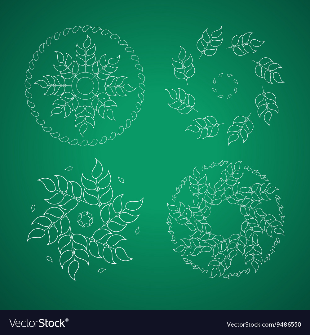 Landscape design emblem