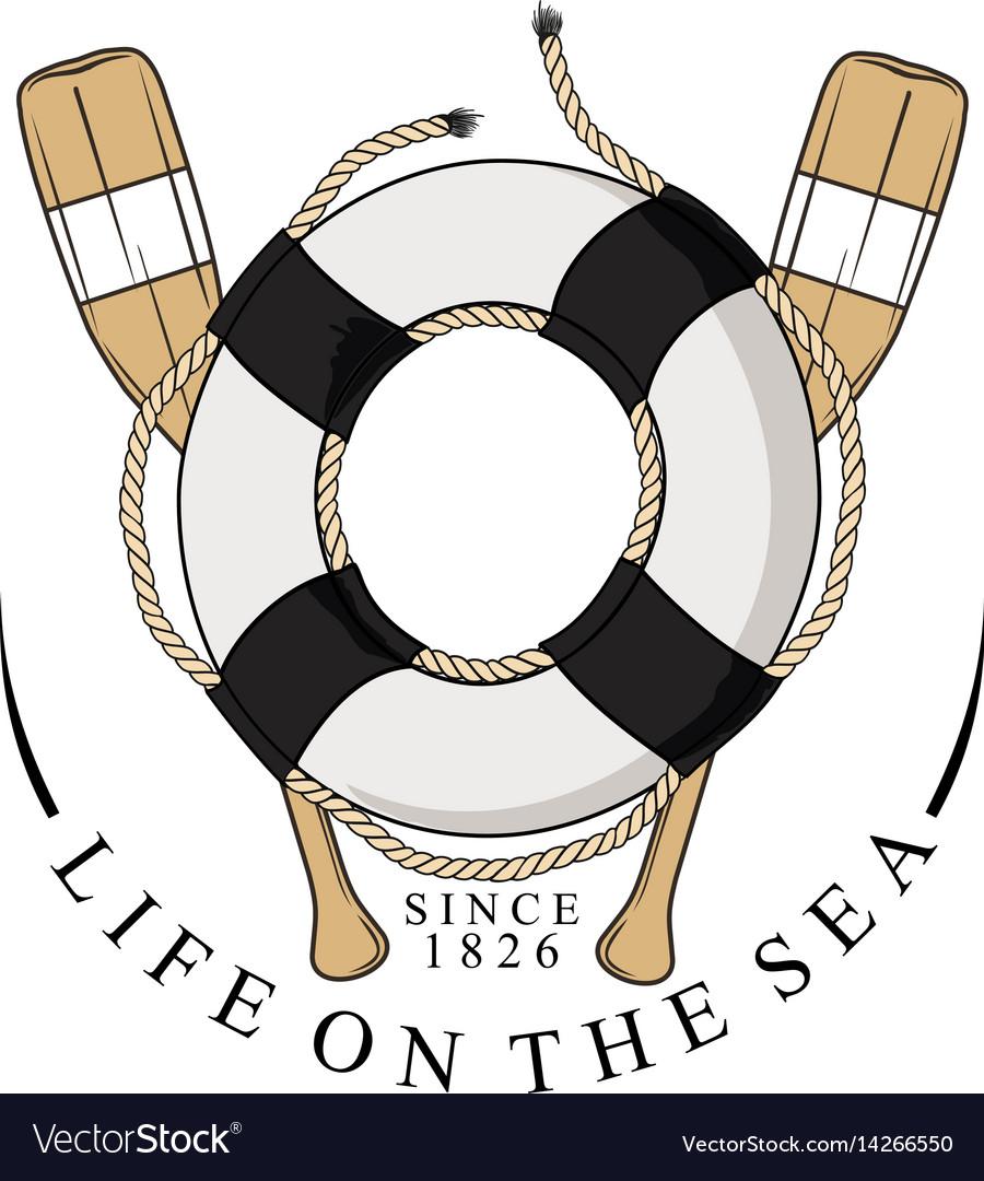 Lifebelt oar