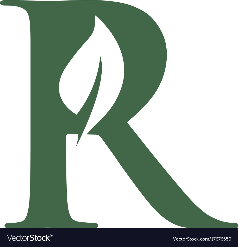 R letter logo royalty free vector image vectorstock r letter logo vector image altavistaventures Gallery