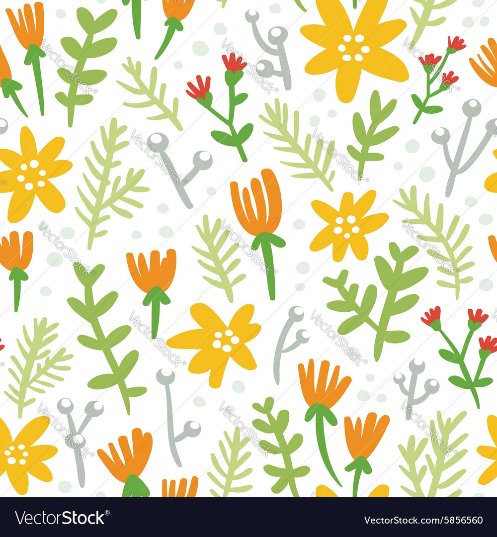 White background seamless pattern with colorful