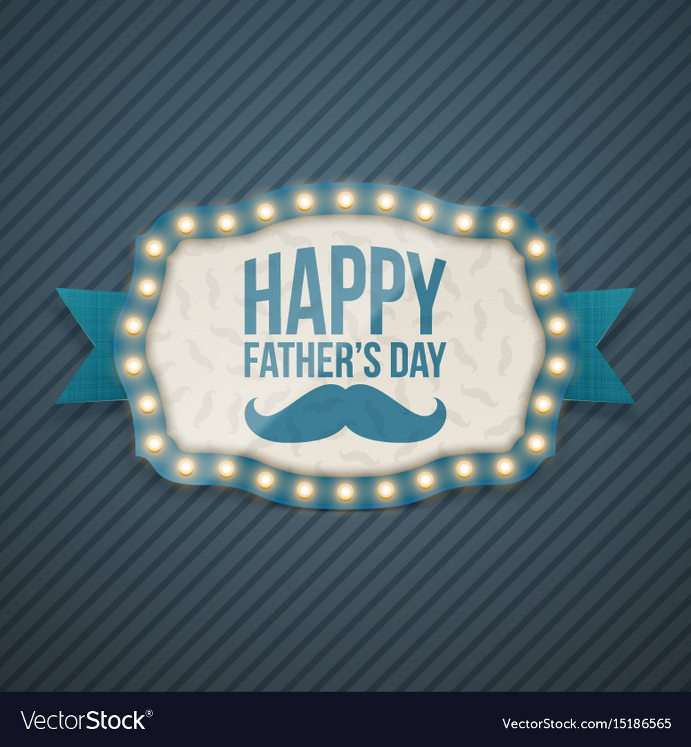 Happy fathers day festive background template