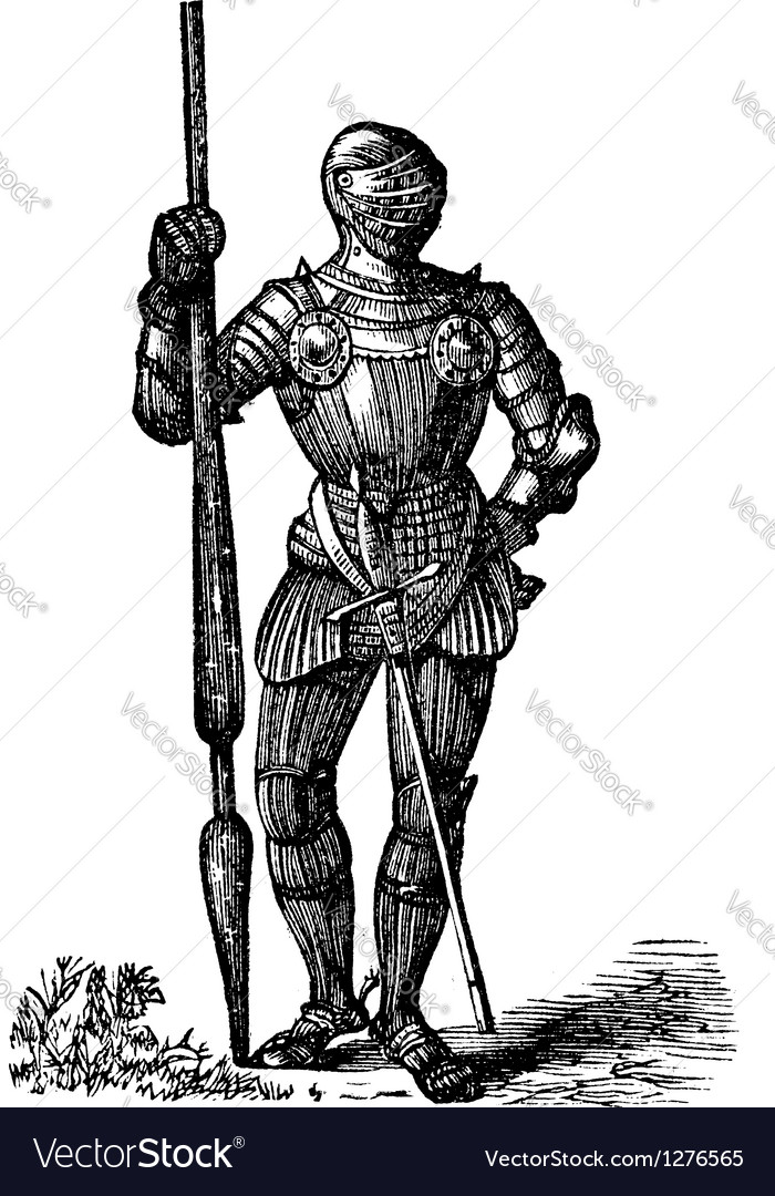 Henry VII vector image