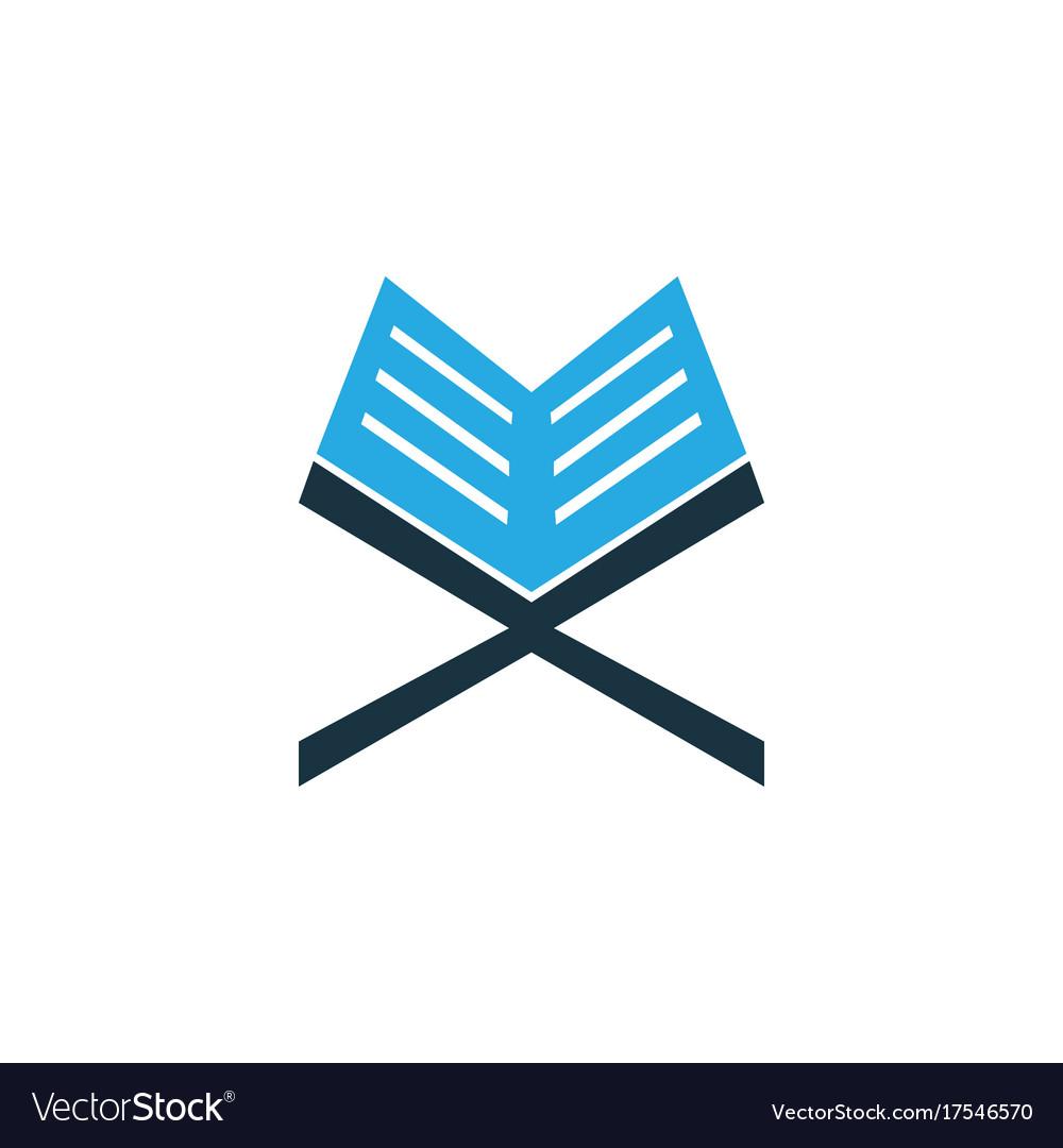 Koran colorful icon symbol premium quality vector image