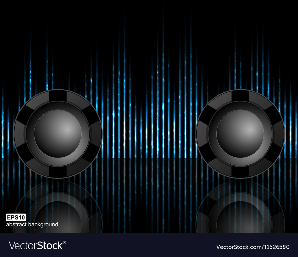 Abstract technology background for nightclub party vector image