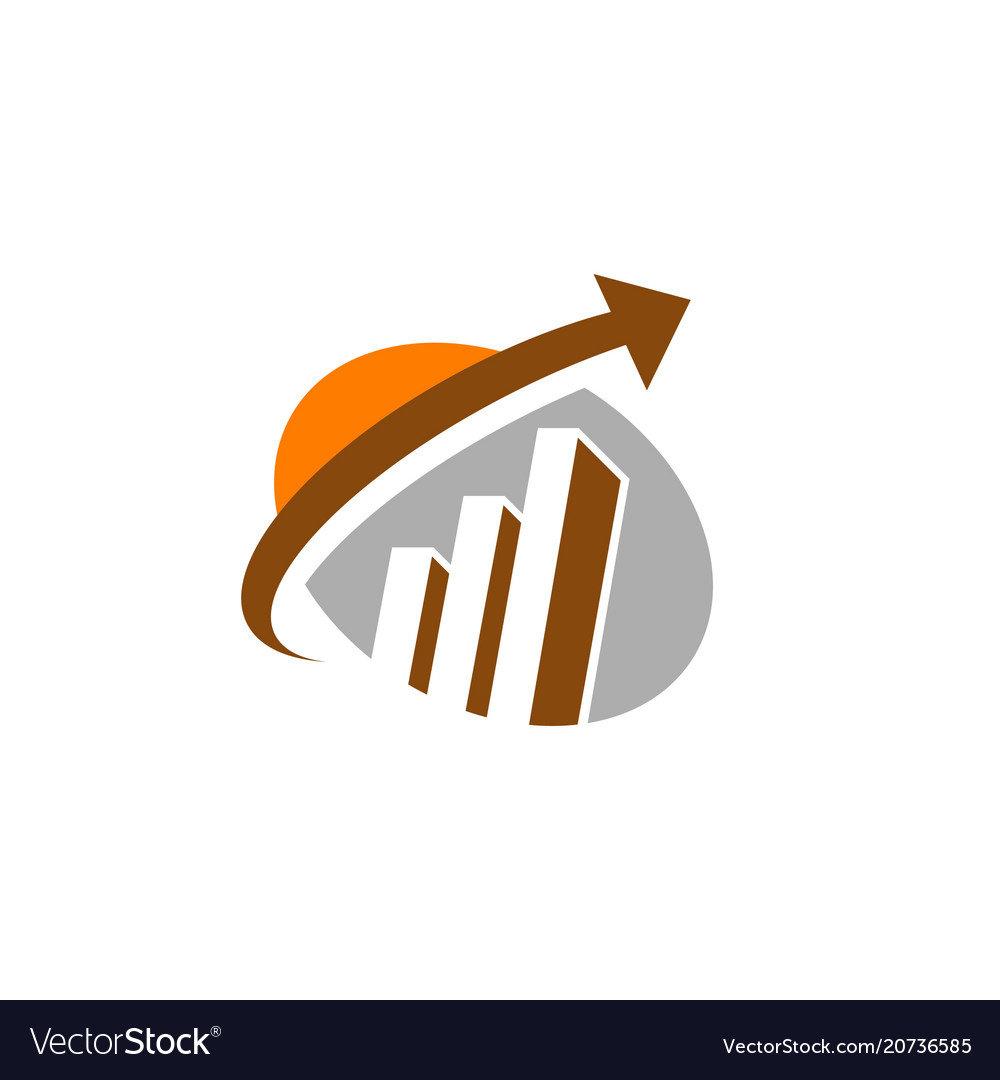Business abstract symbol - logo concept ill