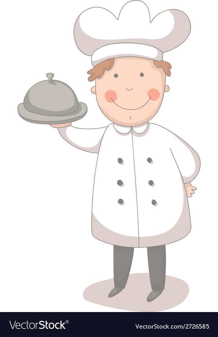 Cartoon of cook