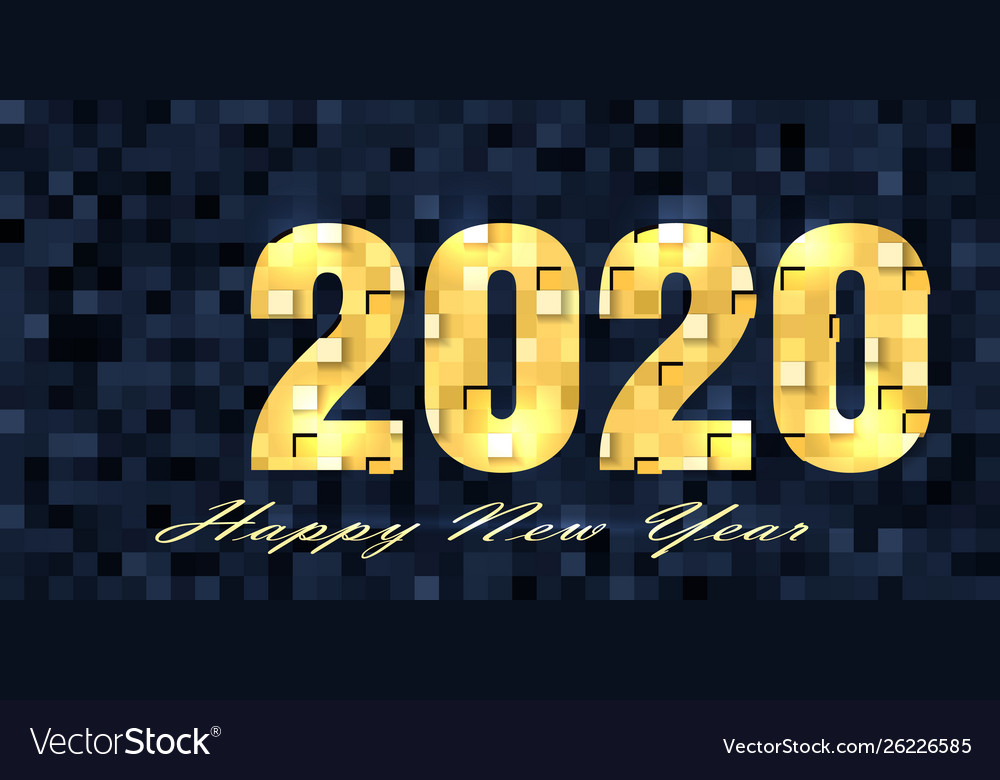New year 2020 background