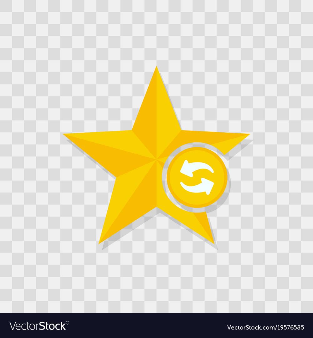 Star icon refresh icon