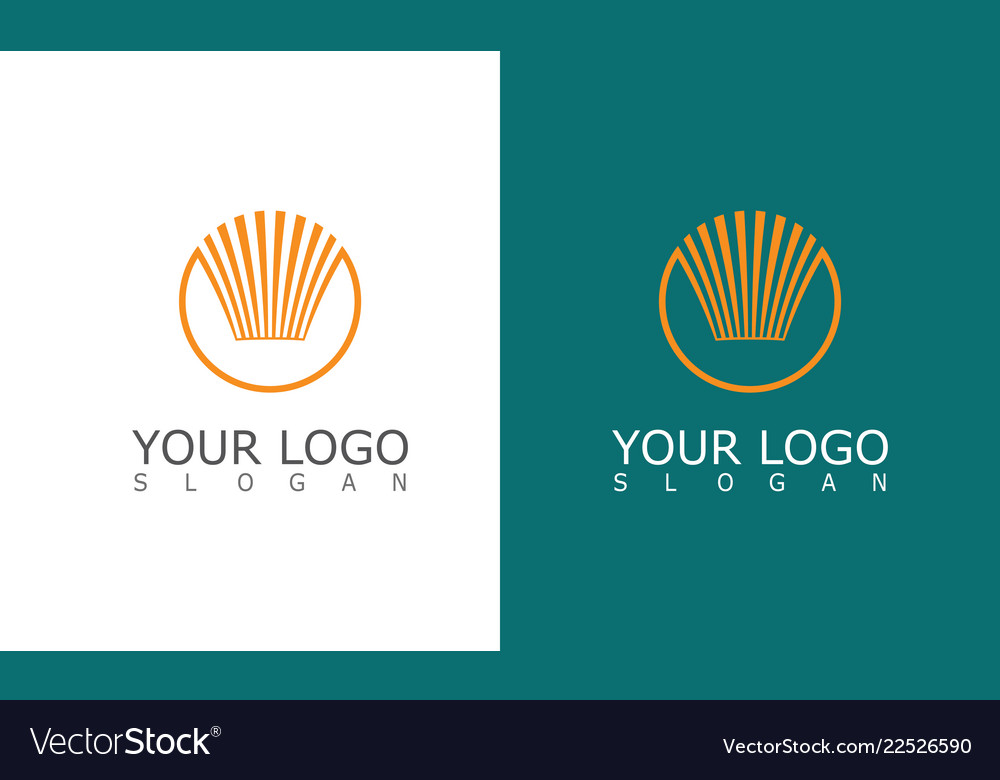 Circle stripe logo