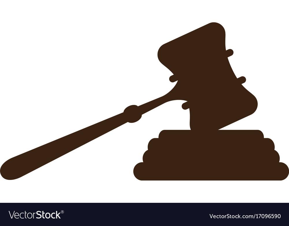 Court hammer logo