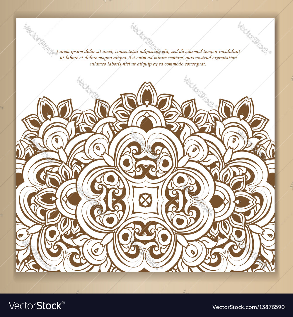 Set of card or invitation