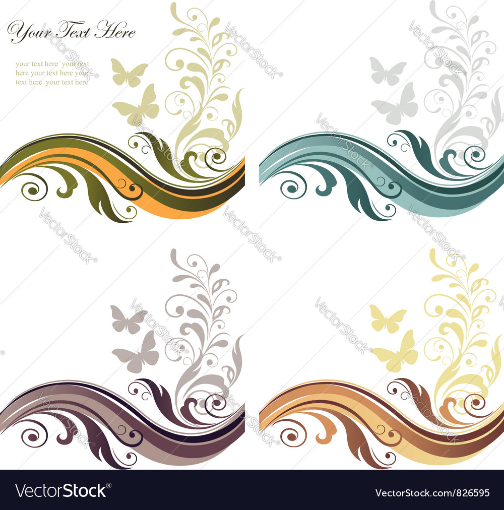 Floral Graphic Background