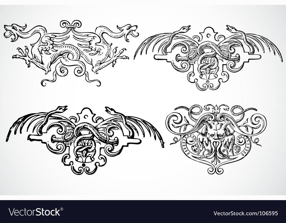 Snake ornaments