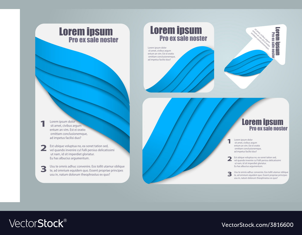 Abstract template brochure for design