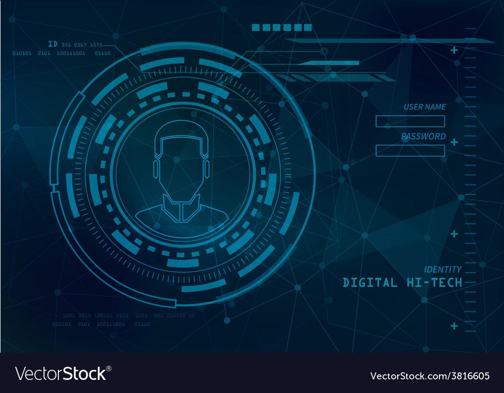 Identity technology background