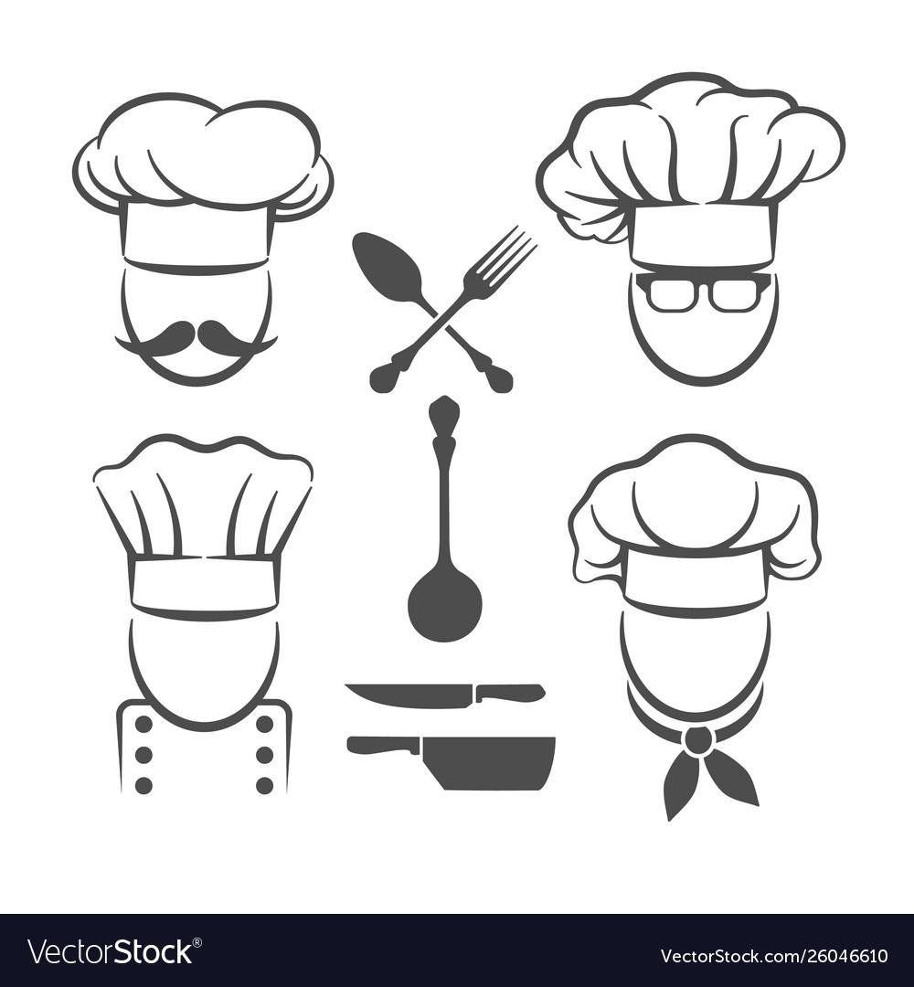 Chef menu logo elements