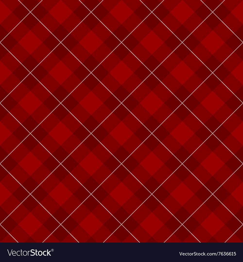 Lumberjack checkered diagonal square plaid red