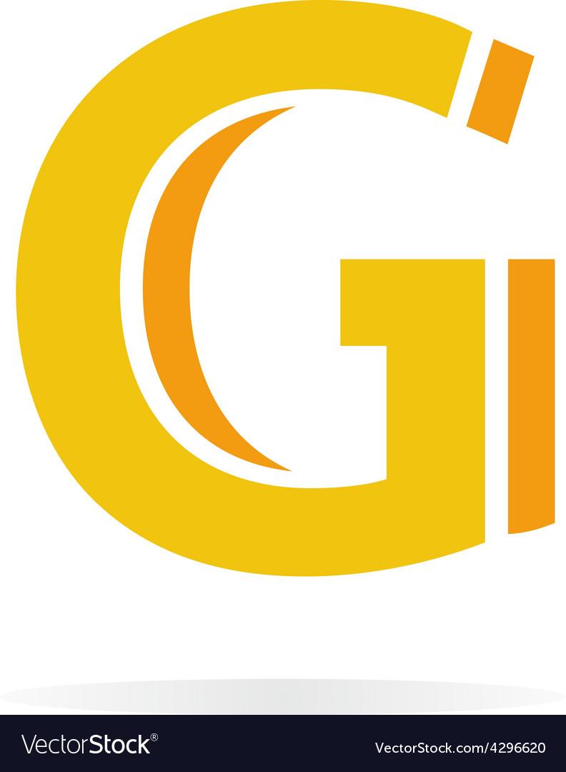 Logo G letter for company design template