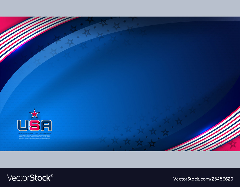 Usa background for independence day