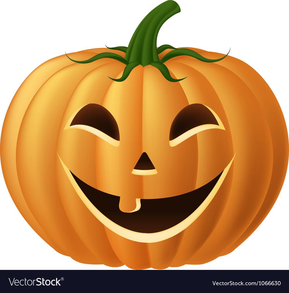 Happy jack o lantern Royalty Free Vector Image