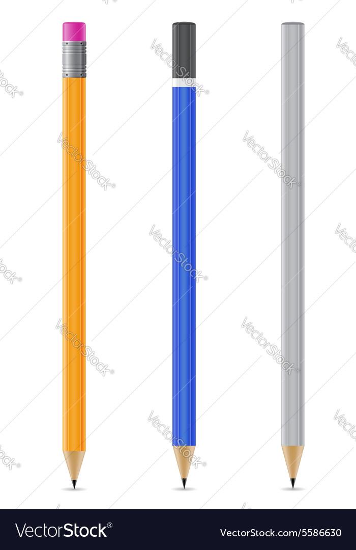 sharpened pencil 07 royalty free vector image vectorstock