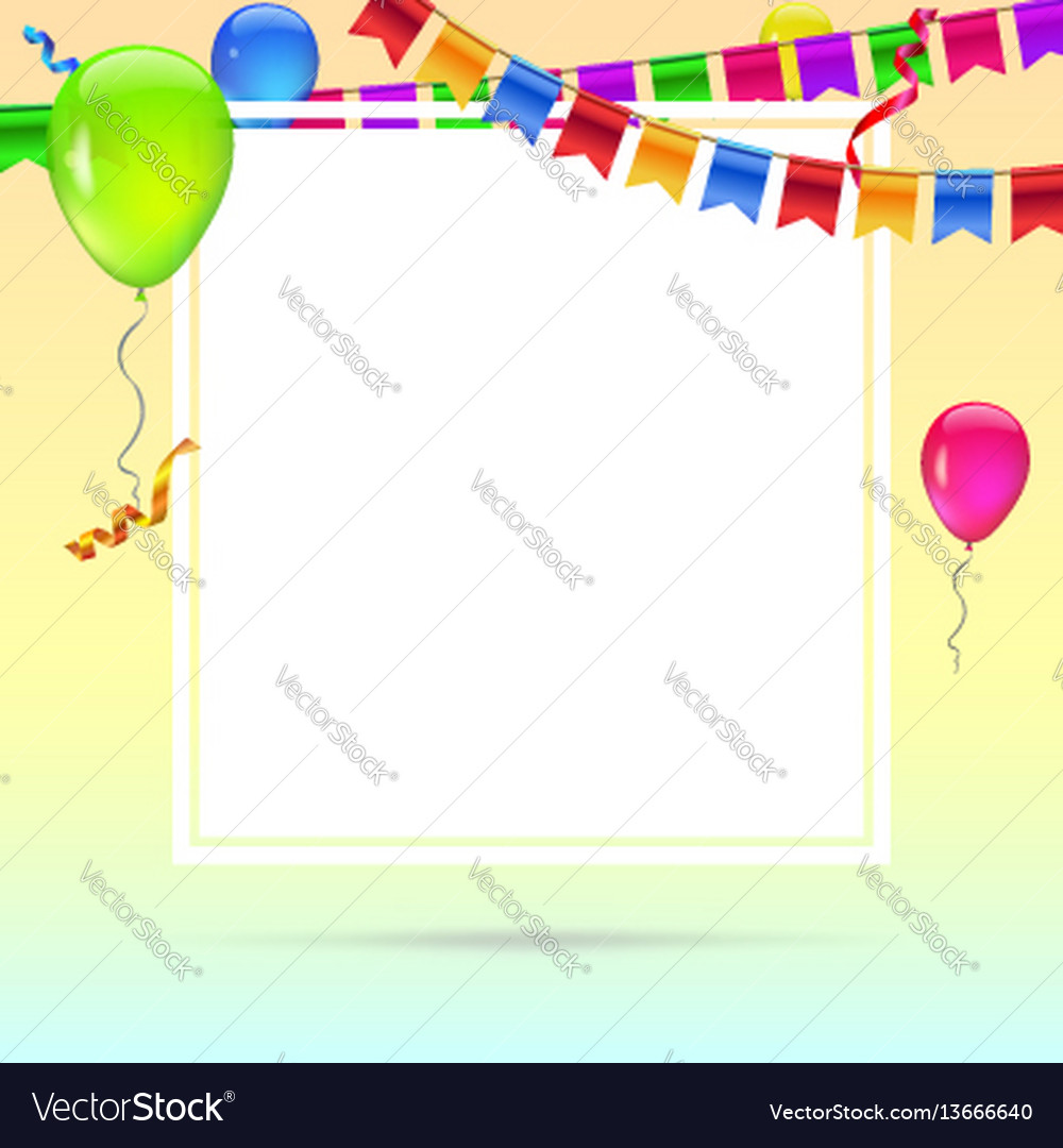 Celebrate colorful background with flying colorful