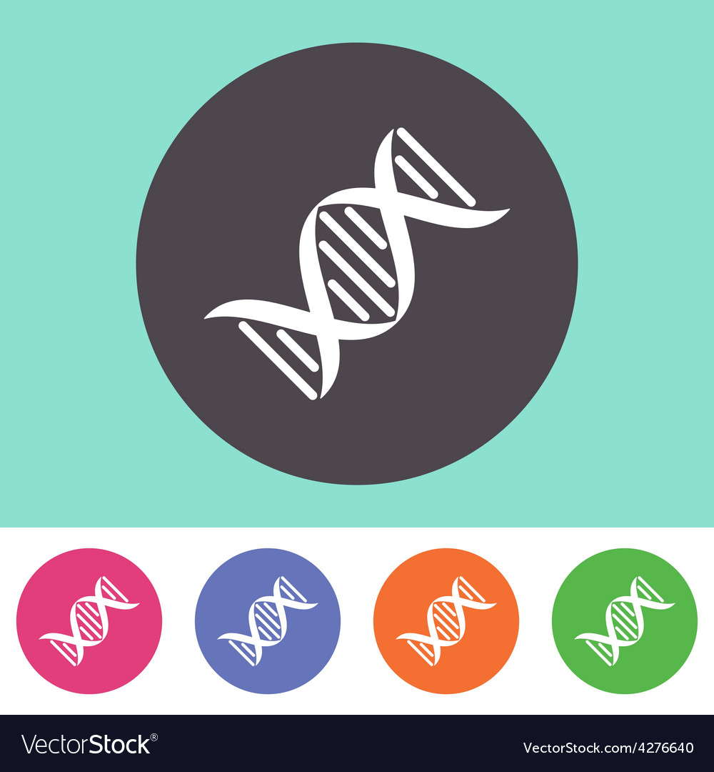 DNA molecule icon