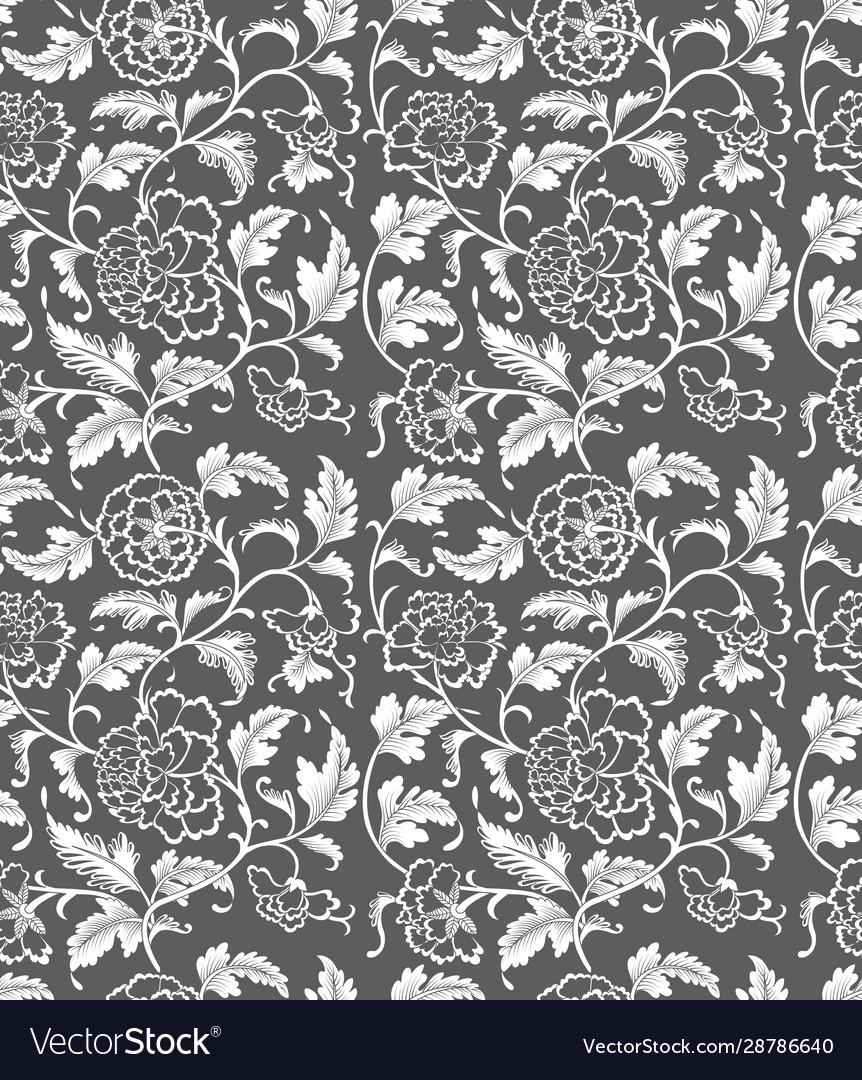 Seamless chinese ornament pattern