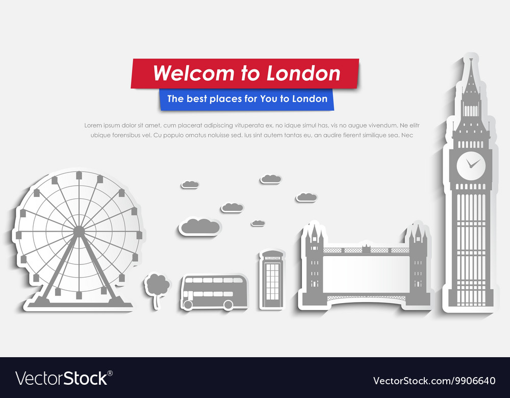 Site Header Design for tourism in London