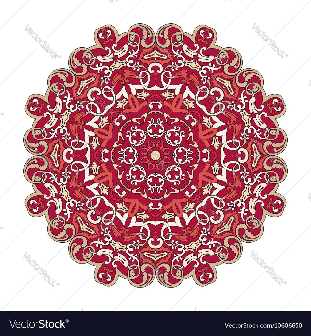 Colorfull mandala pattern