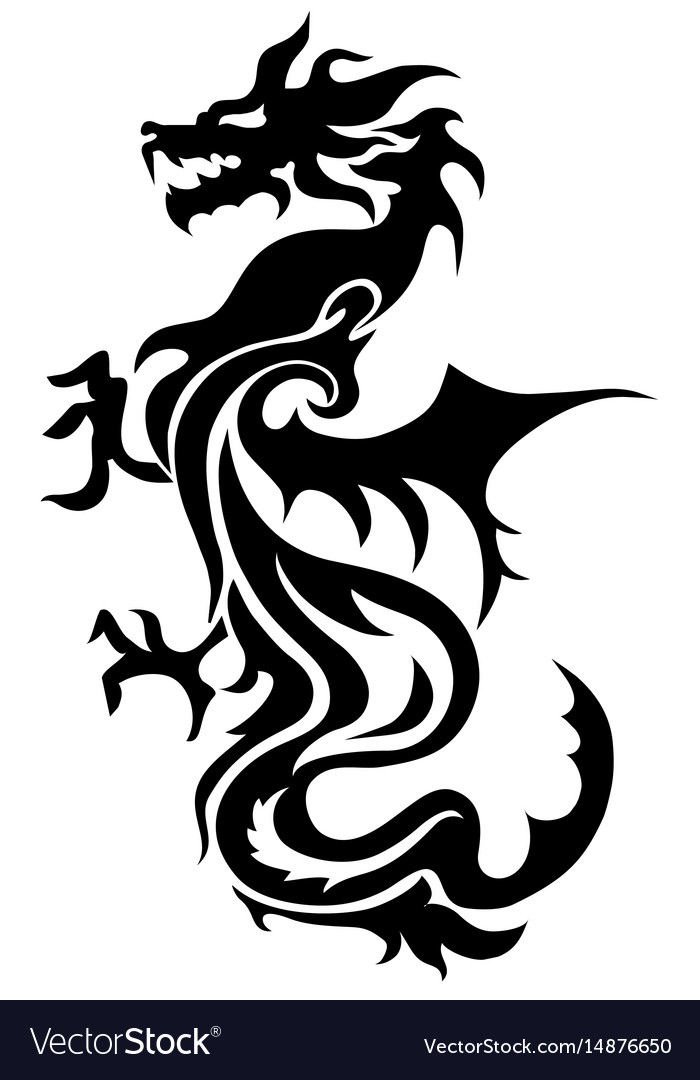 Chinese Dragon Symbol Tattoo Best Image Of Dragon And Bird Vizimage