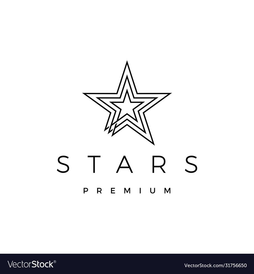 Stars logo icon
