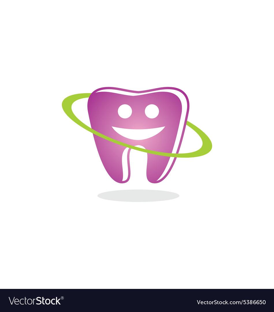 Teeth Dental Smile Beauty Logo Royalty Free Vector Image